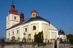 Lázně Bělohrad - kostel Všech svatých