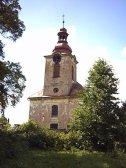 Lužany u Jičína - kostel
