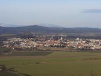Jičín - pohled z Veliše